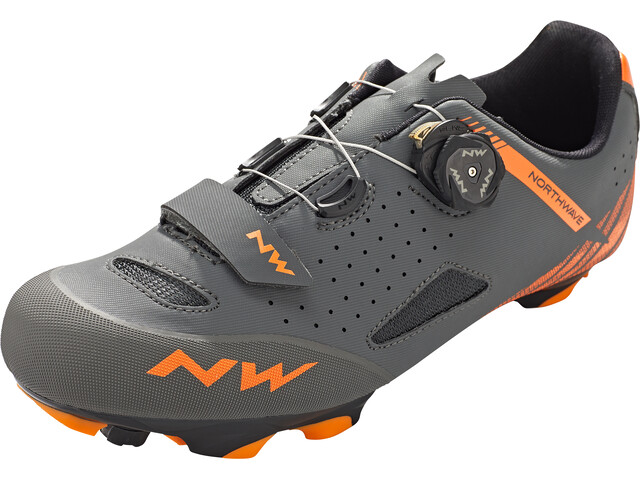 Northwave Origin Plus Shoes Herren anthracite/orange